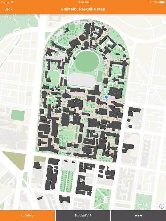 Melbourne University Map App Insight Amp Download