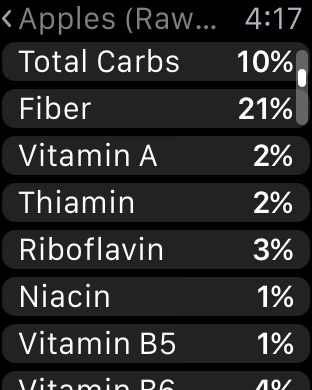 Screenshot #14 for Nutrients - Nutrition Facts
