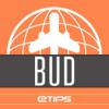 Budapest Guía de Viaje con Mapa Offline