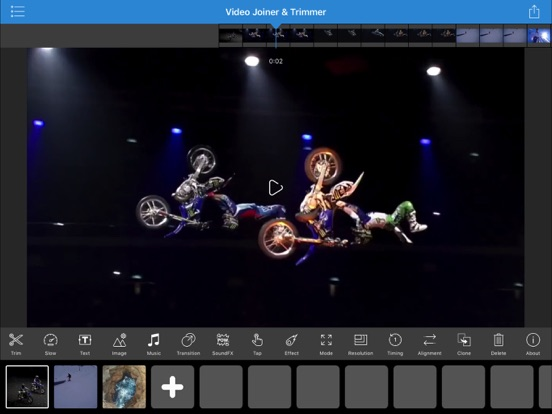 Video Joiner & Trimmer Pro Screenshots