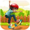 Rehman Latif - Epic Jungle Skater - Safari Skating artwork