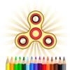 Fidget Spinner Coloring Book NoAd