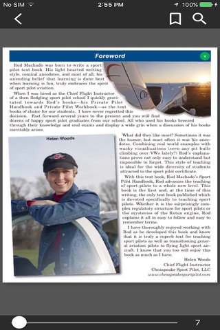 Rod's Sport Pilot Handbook screenshot 1