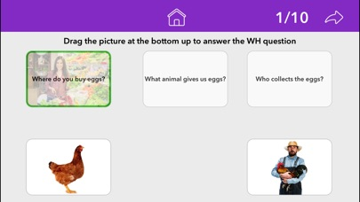 Screenshot #9 for Wh Questions by Teach Speech Apps