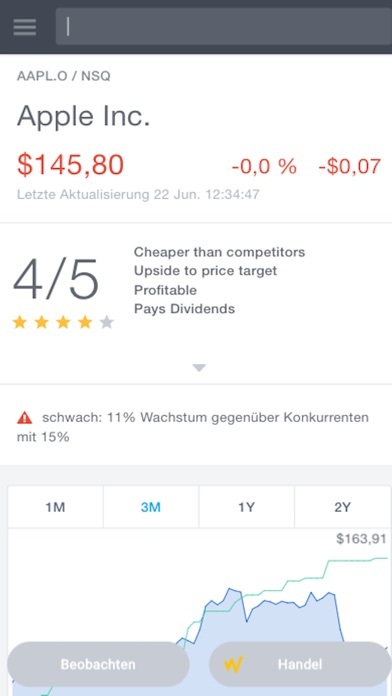 Screenshot von Stockflare3