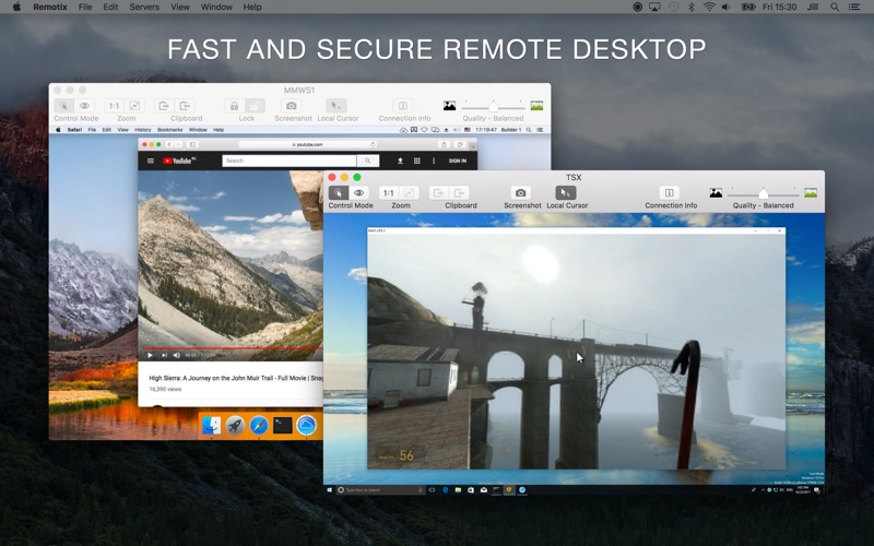 Remotix VNC, RDP & NEAR Screenshots