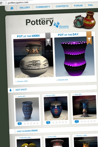 Let's create! Pottery HD screenshot 4