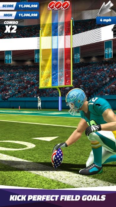 Flick Field Goal 18 Screenshot