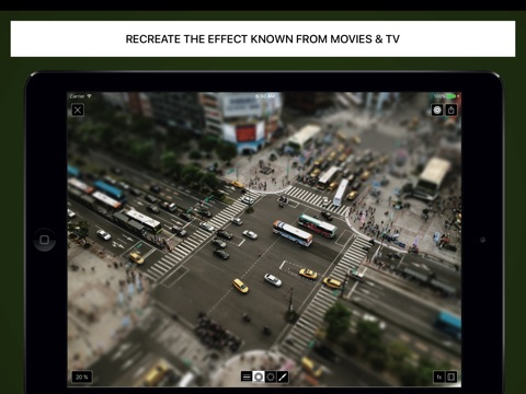 Tilt Shift Focus HD screenshot 4