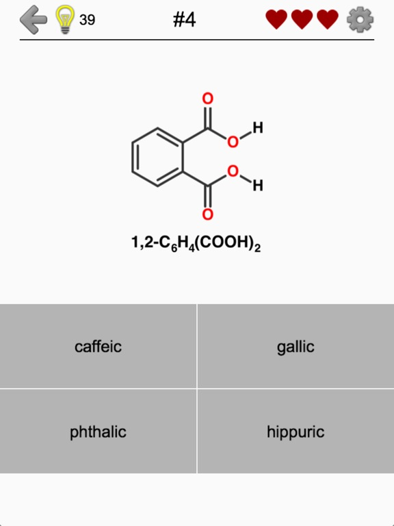 Carboxylic Acids and Esters Screenshots