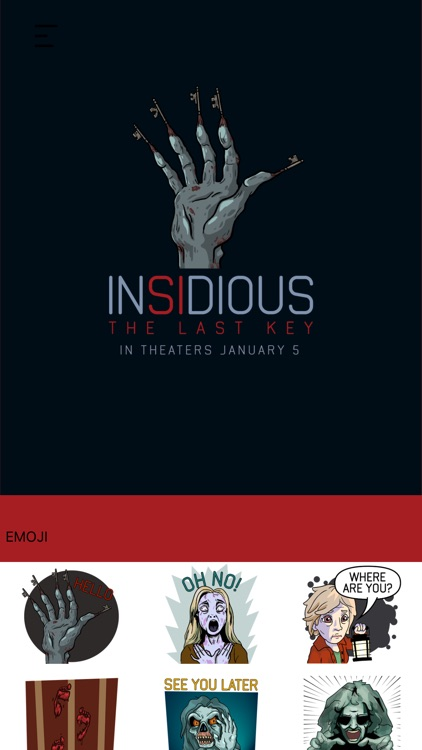 Insidious: The Last Key Emoji by Swyft Media Inc