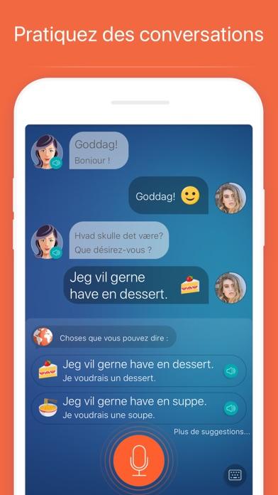 Apprendre le danois – MondlyCapture d'écran de 4