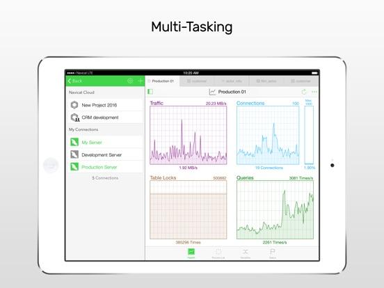 Screenshot #4 for Navicat for MySQL - mobile database management GUI