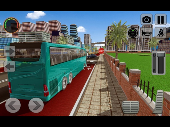 3D Bus Driving Academy Game screenshot 6