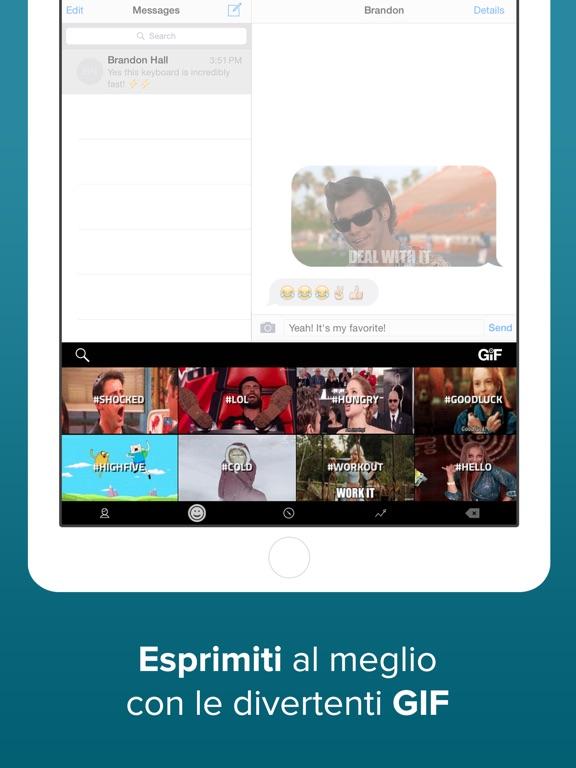 Fleksy - GIF Web & Yelp Search Screenshot