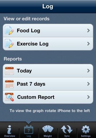 Tap & Track Calorie Counter screenshot 3