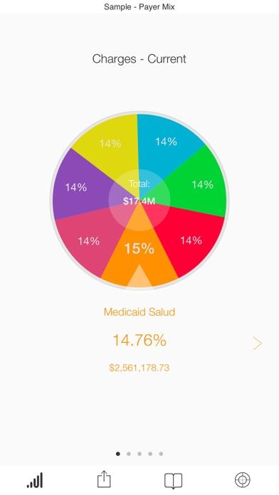 Screenshot of SAP Roambi Analytics for BB2
