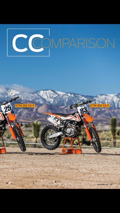 Dirt Rider Magazine review screenshots