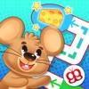 Labirinti per bimbi 123 Pocket per bambini
