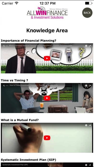Allwin Finance screenshot 2