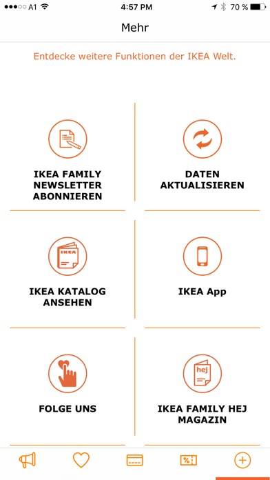ikea family schweiz app report on mobile action. Black Bedroom Furniture Sets. Home Design Ideas
