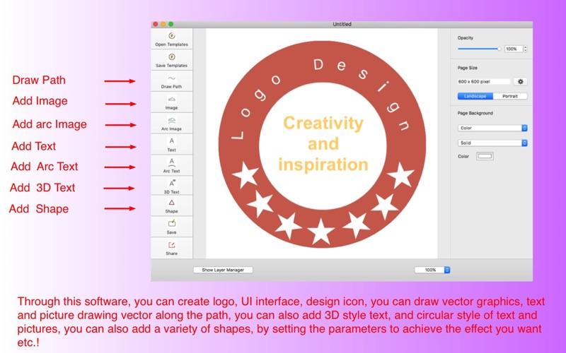 800x500bb 2017年11月10日Macアプリセール3Dイラスト・ペイントアプリ「ロゴ/デザイン・クリエイター」 が値下げ!