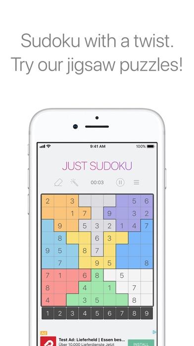 Just Sudoku Скриншоты4