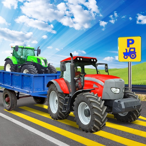 vrai tracteur parking 3d par century games. Black Bedroom Furniture Sets. Home Design Ideas