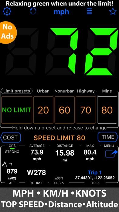 download Speedometer 55 GPS Speed & HUD apps 3