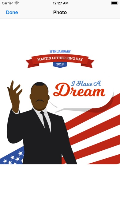 Screenshot for Martin Luther King Jr. Day in Russian Federation App Store