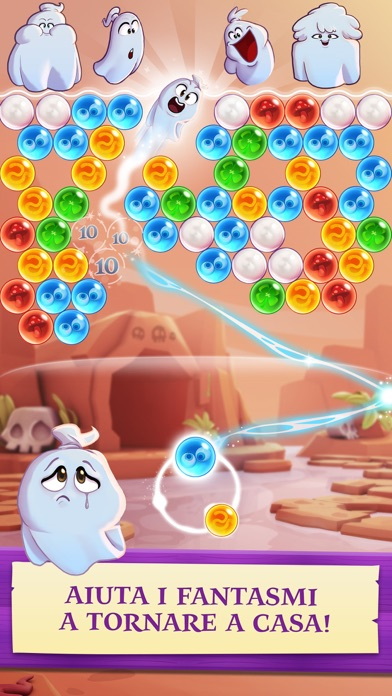 Screenshot of Bubble Witch 3 Saga2