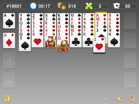 FreeCell Classics screenshot 3