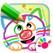 幼儿绘画 - 少儿涂色画画学习教育儿童游戏