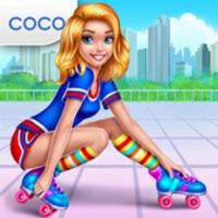 Roller Skating Girls