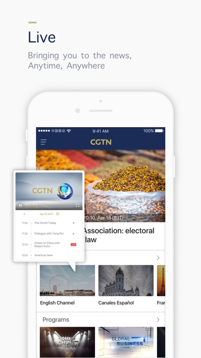 download CGTN - China Global TV Network apps 3
