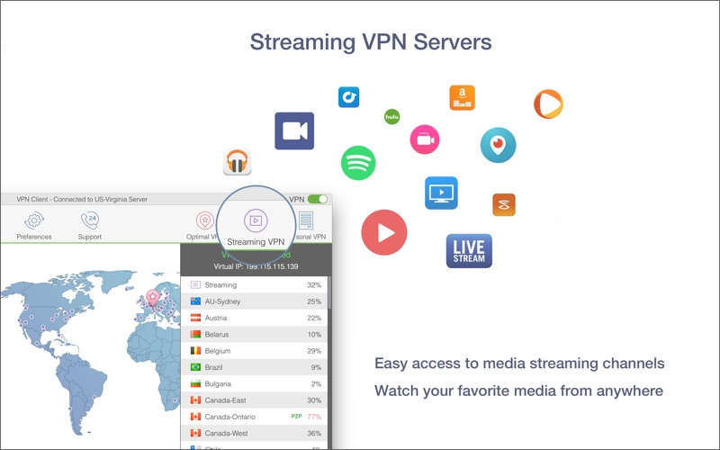 VPN Client Screenshot - 4