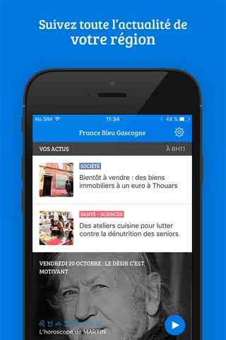 France Bleu - radio et actus screenshot 2