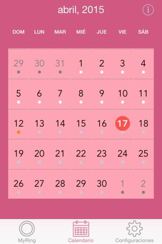 MyRing - Ring Contraceptive screenshot 2