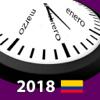 Calendario 2018 Colombia