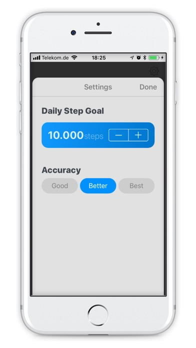 Screenshot for Steppy Pro in Denmark App Store