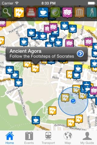 Athens Travel Guide Offline screenshot 1