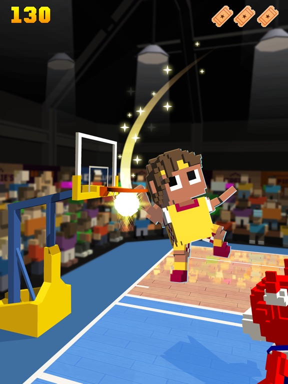 Скачать игру Blocky Basketball FreeStyle