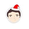 Vladislav Zagordnyuk - Christmas Stickers-Marie Curie  artwork