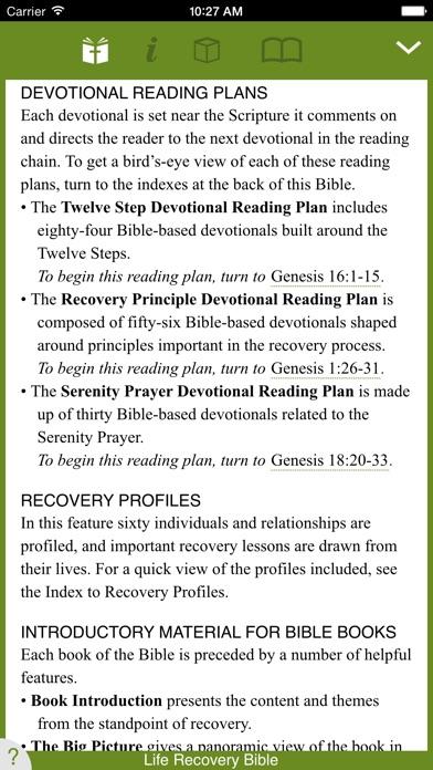 Life Recovery Bible Screenshot