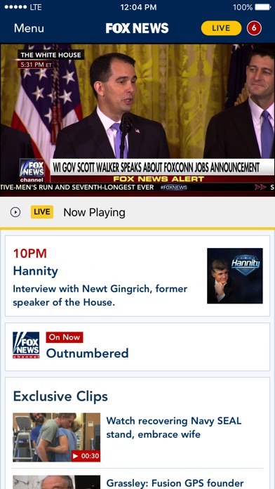download Fox News: Live Breaking News apps 0