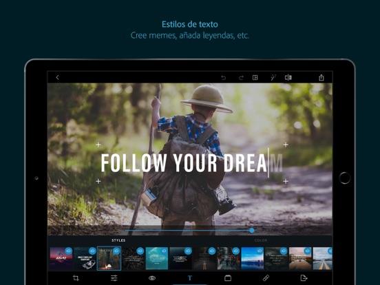 Adobe Photoshop Express en el App Store