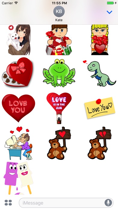 Sticker Fun With Love review screenshots