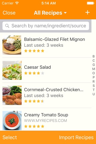 MealBoard screenshot 2