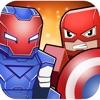 Super-Hero Blocky Craft Avenger Run 3D