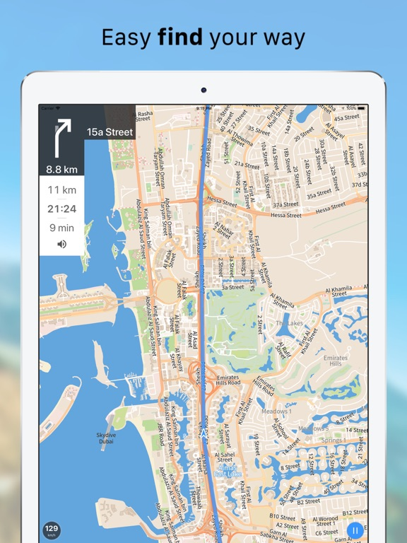 Galileo Offline Maps Pro Screenshots